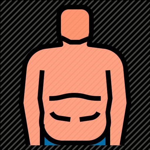 Body, Fat Icon