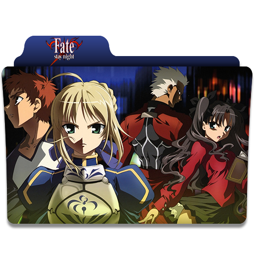 Fate Stay Night Anime Folder Icon