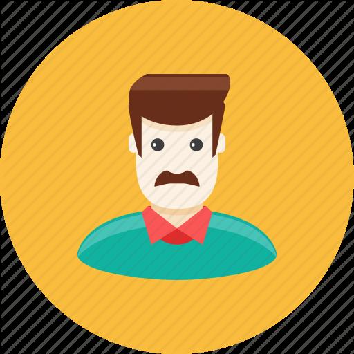 Avatar, Face, Father, Husband, Man, Mustache, Profile Icon