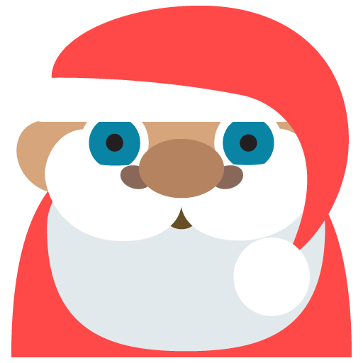 Father Christmas Medium Skin Tone Emoji Emoticon Vector Icon