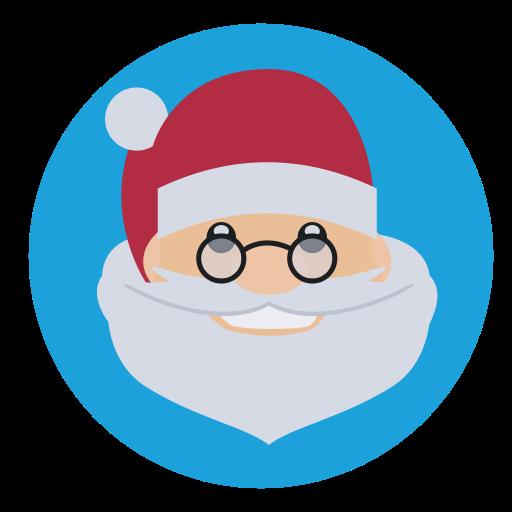 Christmas, Saint Nick, Santa, Father Christmas Icon