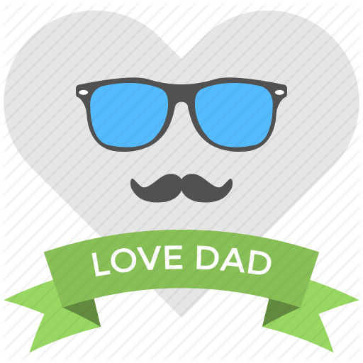 Cool Dad, Dad Love, Fathers Day, Glasses And Mustaches, Greeting