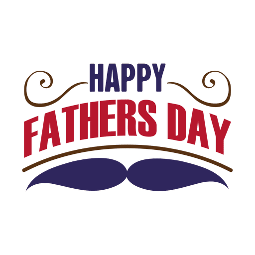 Happy Fathers Day Badge