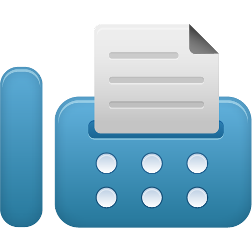 Fax Icon Free Of Pretty Office Icons