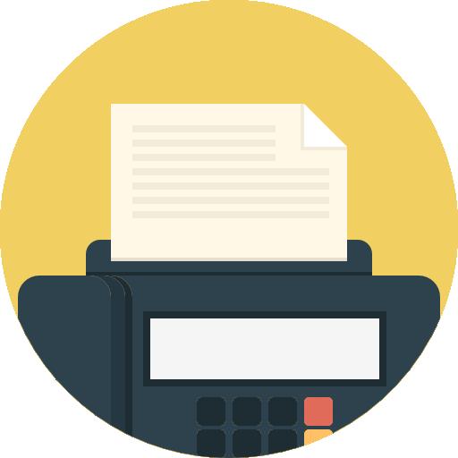 Fax Icon Communications Freepik