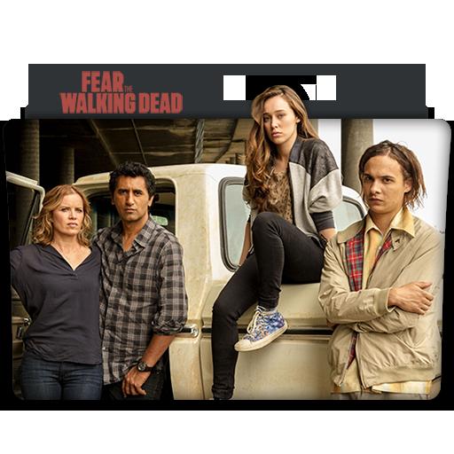 Fear The Walking Dead Tv Series Folder Icon