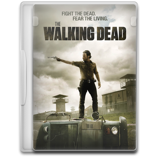 The Walking Dead Icon Tv Show Mega Pack Iconset