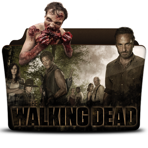 The Walking Dead Icon Tv Series Folder Pack Iconset