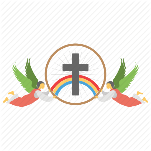 Christian Cross, Cross Sign, Decorated Cross, Feast Of Ascension