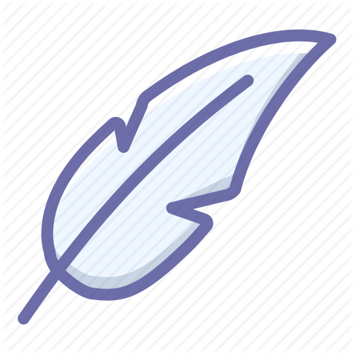 Feather, Light Icon