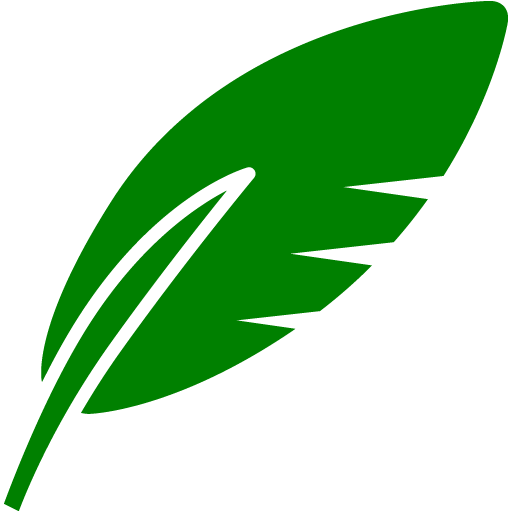 Green Feather Icon