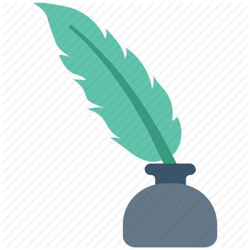 Education, Feather Pen, Ink, Quill, Quill Pen, Write Icon