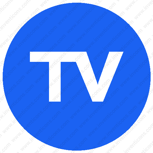 Download Tv,feature,label,roundsvg Icon Inventicons