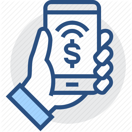 Banking, Fee, Finance, Mobile, Non Cash, Payment, Phone Icon