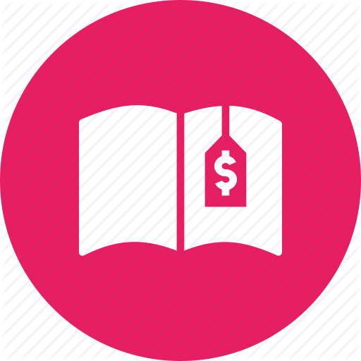 Book, Charge, Cost, Education, Expenses, Fee, School Icon