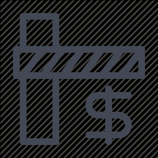 Fee, Gate, Tax, Toll Icon