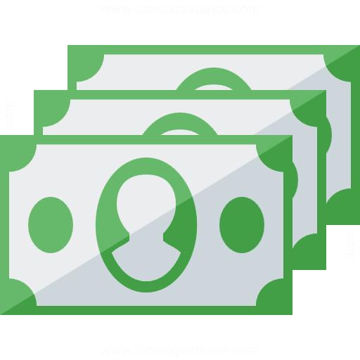 Iconexperience G Collection Money Bills Icon