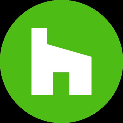 Circle, Houzz, Round Icon Icon