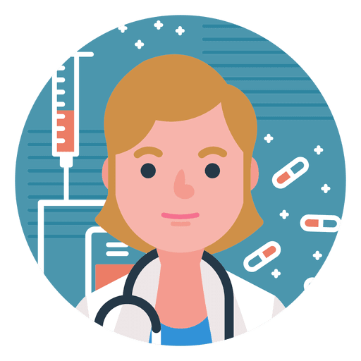 Character Doctor Woman