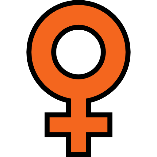Gender, Symbol, Girl, Signs, Femenine, Female, Shapes And Symbols