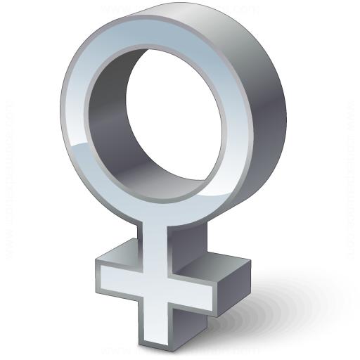 Iconexperience V Collection Symbol Female Icon