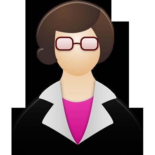 Teacher Female Icon