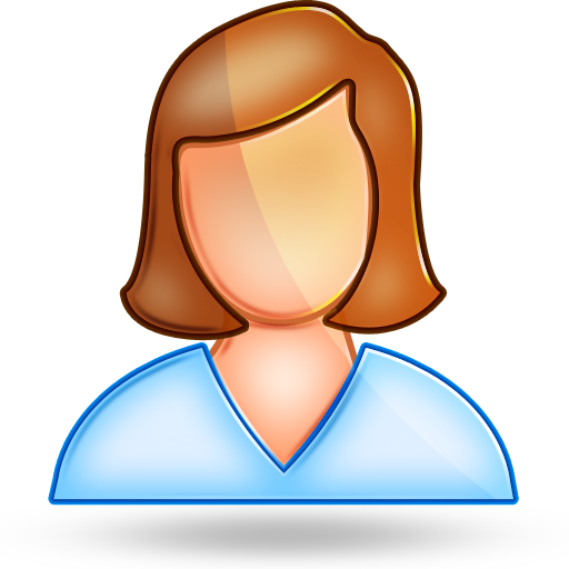 User Female Icons, Free User Female Icon Download