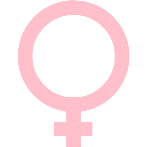 Pink Female Icon