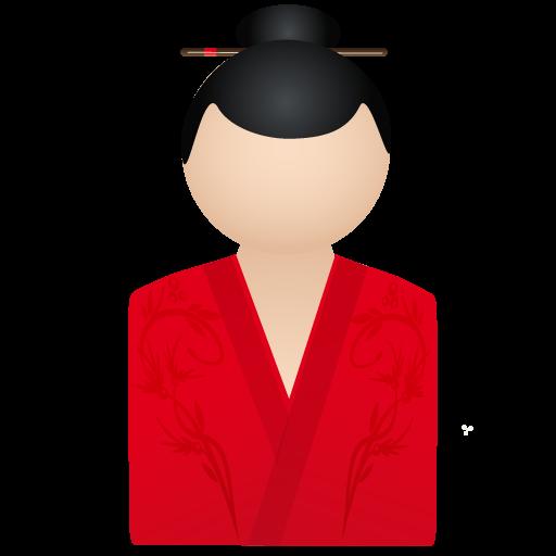 Member, Person, Account, Kimono, Red, Woman, User, Human, Profile