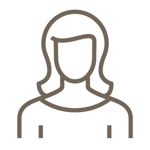 Female, Woman, People, Avatar, User Icon Free Of Line Style