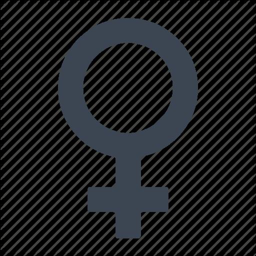 Female, Gender, Sex Icon