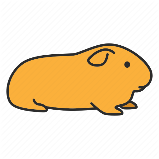 Animal, Cavy, Domestic, Guinea, Pet, Pig, Rodent Icon