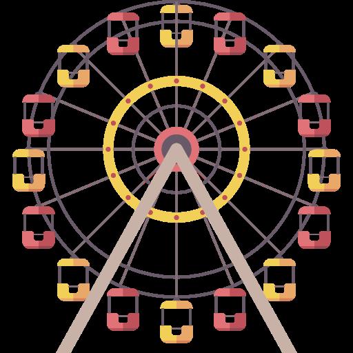 Amusement Park, Buildings, Fair, Ferris Wheel, Funfair, Business