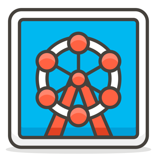 Ferris, Wheel Icon Free Of Free Vector Emoji