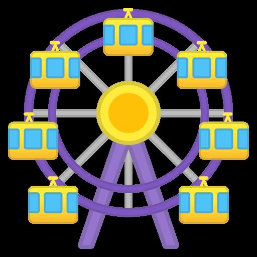 Ferris Wheel Icon Noto Emoji Travel Places Iconset Google