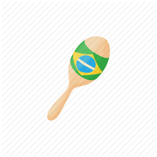 Brazilian, Cartoon, Design, Fiesta, Latin, Maracas, Traditional Icon