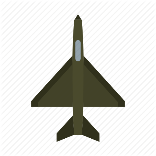 Air, Aircraft, Airplane, Fighter, Force, Jet, Military Icon