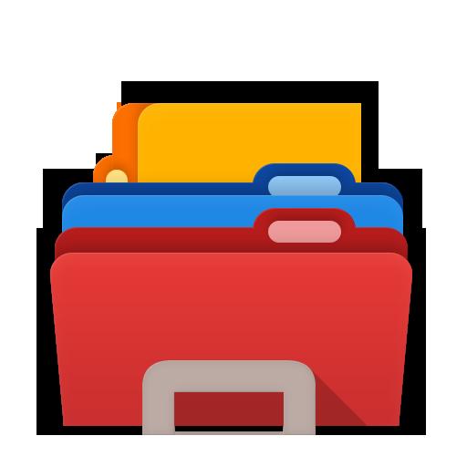 Folders Explorer Icon Material Iconset Zhoolego