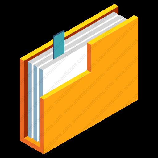 Download Document Folder,document Case,file,folder Icon Inventicons