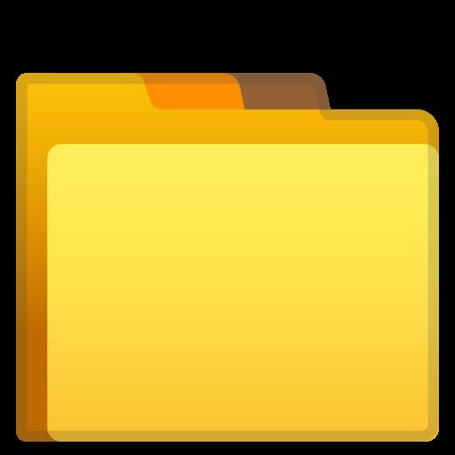 Folder Icon Noto Emoji Objects Iconset Google