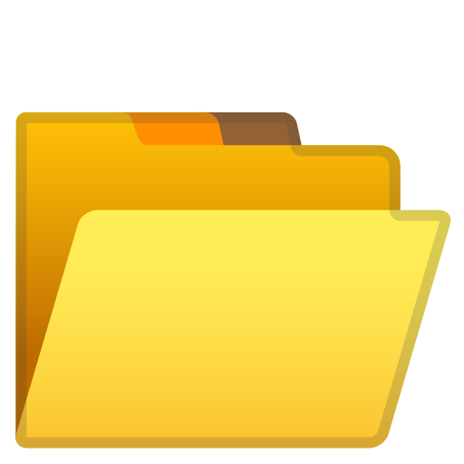 Open, File, Folder Icon Free Of Noto Emoji Objects