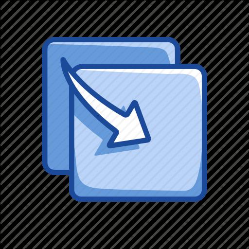 Copy, Copy File, Duplicate, Move Icon
