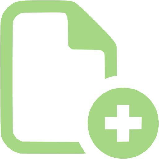 Guacamole Green Add Icon