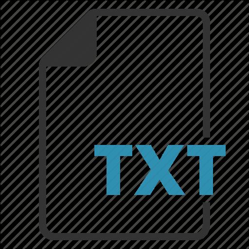 Txt Icons