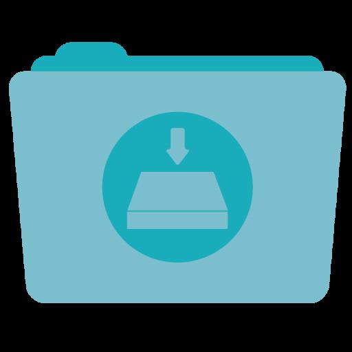 Folder Server Icon Stock Folder Iconset Hamza Saleem