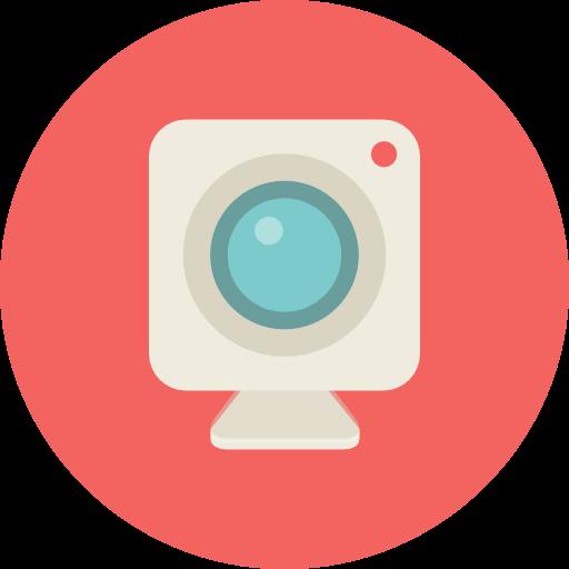 Webcam, Camera Icon Free Of Flat Retro Communications Icons