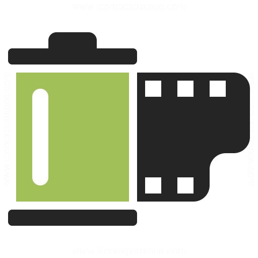 Film Cartridge Icon Iconexperience