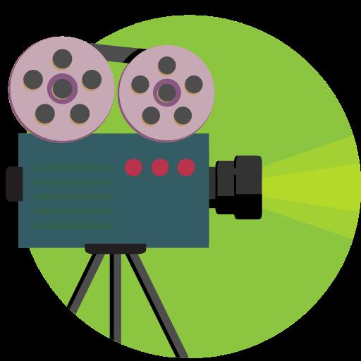 Camera, Film, Movie, Shoot, Vintage Icon