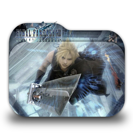 Final Fantasy Vii Advent Children Folder Icon
