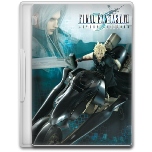 Final Fantasy Vii Advent Children Icon Movie Mega Pack Iconset